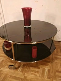 Like new glass coffee table with 2 levels and 3 wh Annandale, 22003