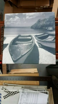 Boat photo canvas Langley, V2Z 1A4