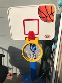 Toddler basketball toy