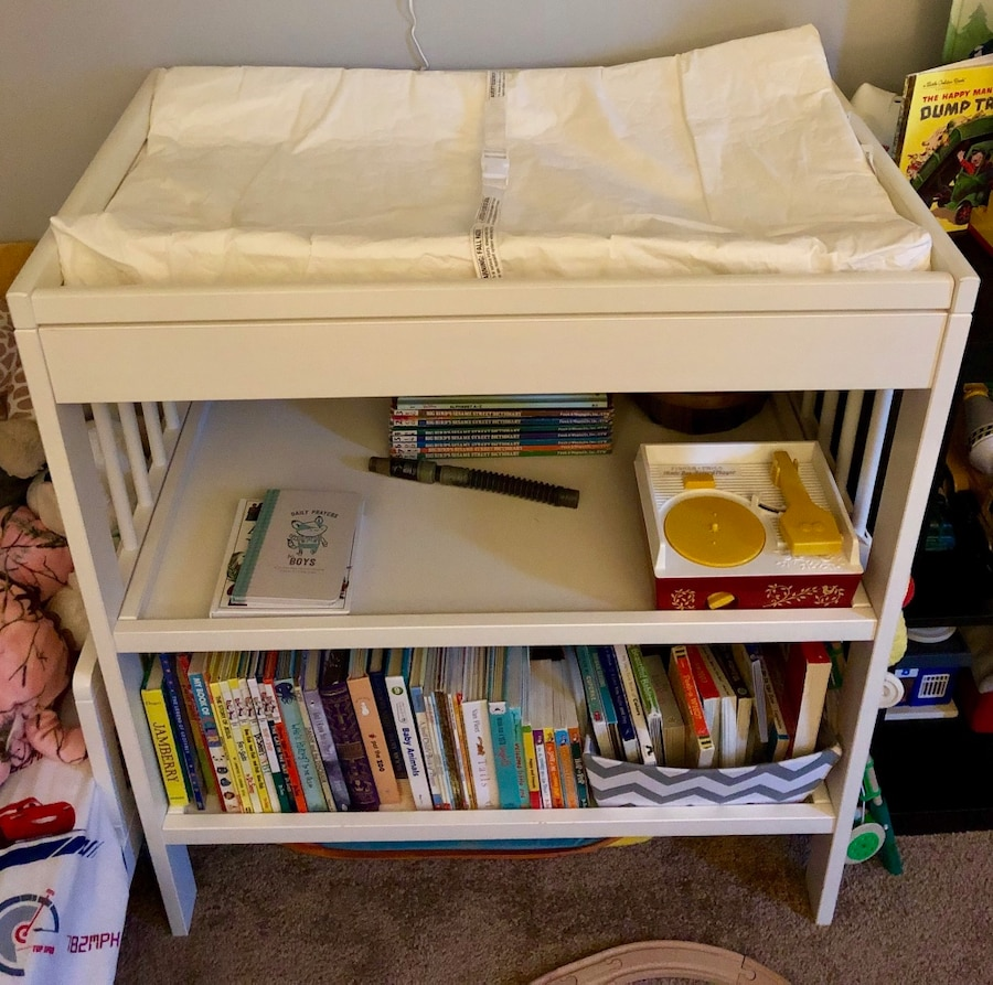 IKEA Gulliver Changing Table And Pad