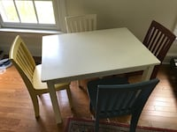 Pottery Barn Kids Table & Chairs Leesburg