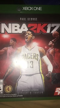 Xbox One NBA2K17 game