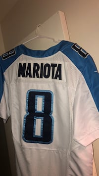 Marcus mariota Titans Jersey price is negotiable message me for other details if interested / jersey is in perfect condition New York, 10306