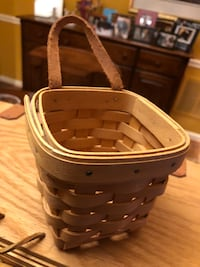 Longaberger Baskets 4 sizes, Will sell separately if requested. Reston, 20191