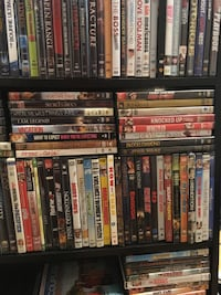 Almost 400 DVDs movies Springfield