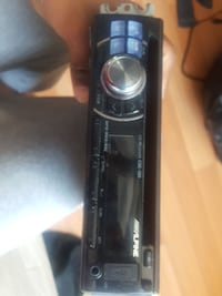 black Pioneer 1-DIN car stereo head unit Toronto, M1V 2N7