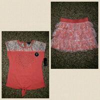 women's pink and white floral dress