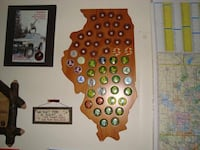 Illinois Hunting Pin Holder Chicago, 60602