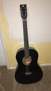 Black and brown acoustic guitar Columbia, 21044