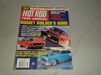 LOT OF 2 VINTAGE HOT ROD MAGAZINE YEARBOOK 1987 1995 ANNUAL MAGAZINE BACK ISSUES Richmond Hill
