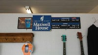 Maxwell House coffee advertising sign Mountain City, 37683
