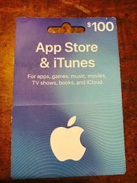 iTunes gift card Scranton, 18505