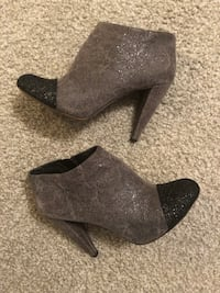 Vince Camuto sparkly two-toned gray booties Ham Lake, 55304