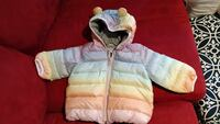 baby's 0-6 month new colorful winter jacket  Burnaby, V3N 0B4