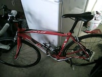 red and black road bike Toronto, M5A 2R7