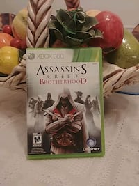 Assassin's Creed Brotherhood Xbox 360 game case Montréal, H9J 1C1