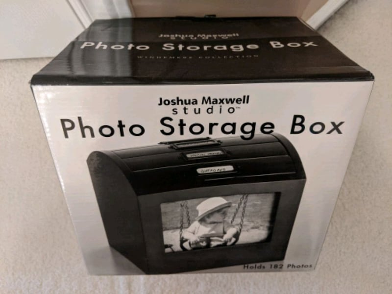 Storage box albums for photos solid wood -2 left only 8227b2f9-6234-4afe-af3f-aa3f041a7675