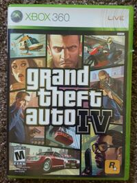 Grand Theft Auto IV Xbox 360 game case Belle Plaine, 56011