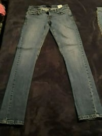 two blue and gray denim jeans Ocala, 34480
