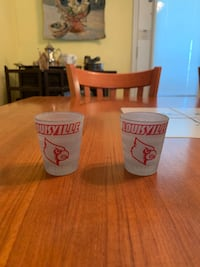 NEW UofL Shot Glasses Radcliff