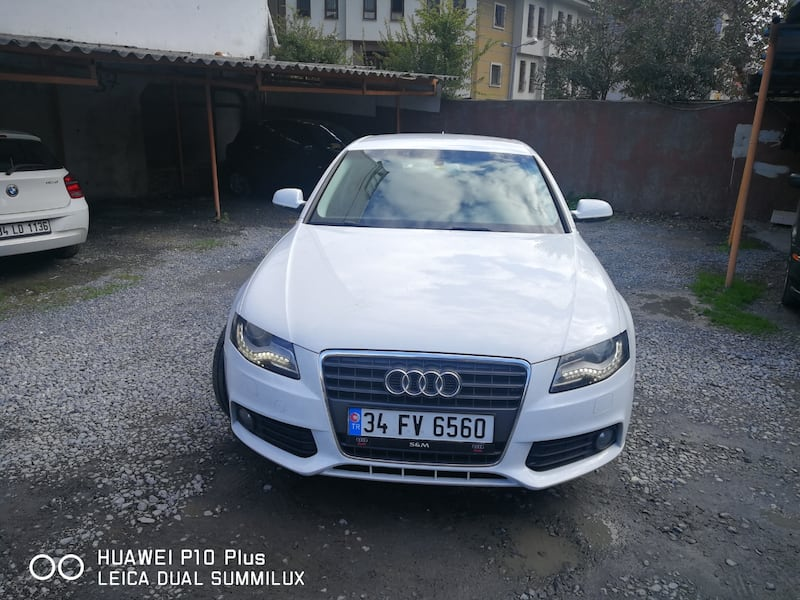 2012 Audi A4 1.8 TFSI 160 HP MULTITRONIC 8