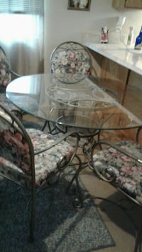 Wrought-iron & Glass Table only (chairs not includ Omaha, 68110
