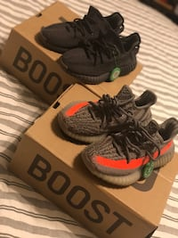 Yeezys size 5.5 they run small so only selling to get right size.