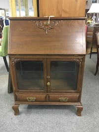 Lovely Antique Secretary's Desk with the Original Key London, N6E 1K9