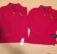 two red and one blue polo shirts Baton Rouge, 70811