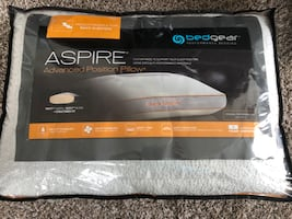 Two Aspire Pillows for back sleepers