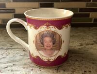 Queen Elizabeth II Diamond Jubilee 2012 collectors mug by Royal Crest Oakville, L6M 1L9
