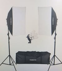 soft box lighting and backdrop kit Mississauga, L5T 2N7