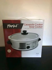 PARINI CASSEROLE COOKER SLOW COOKER 2.5 QUART NEW Mississauga
