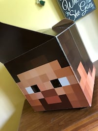 Minecraft Foldable cardboard hat  Amissville, 22724