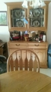 brown wooden dresser with mirror New London, 54961