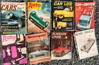Cool old car magazines from 1950's-1960's- $5.00 e Woodstock, 22664