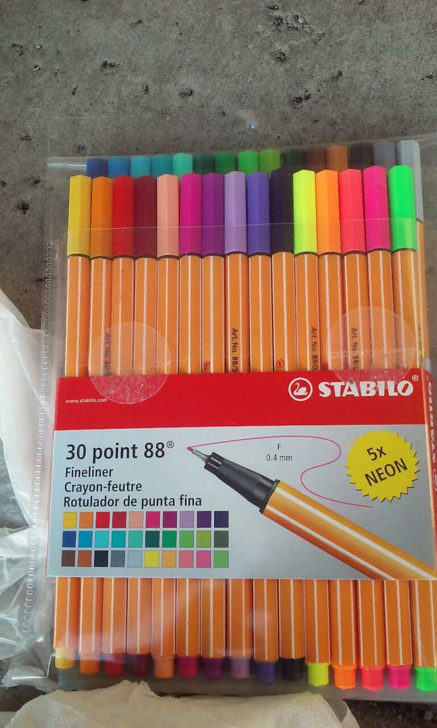 Used fine art supplies stabilo markers in phoenix for Craft stores in phoenix