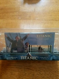 Titanic movie collectable film cell Franklin, 02038