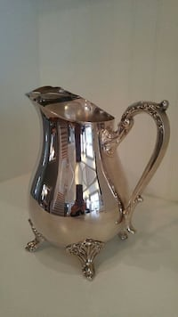 Silver water pitcher Pickering, L1V 1L1