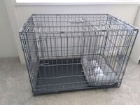 Crate with Divider and separate Room with Pet Bed. Carrier has Handle  Bailey's Crossroads, 22041