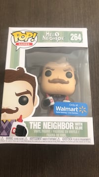 Pop! Hello Neighbor 264 The Neighbor with glue vinyl figure box