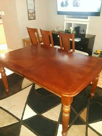Dining room table with 4 chairs  Lehigh Acres, 33971