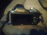 black Nikon Coolpix L100 camera