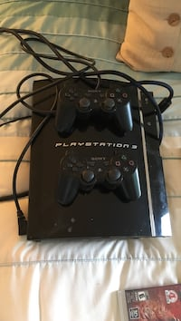 PS3 + 2 controllers + 7 games Coquitlam, V3C 3P5