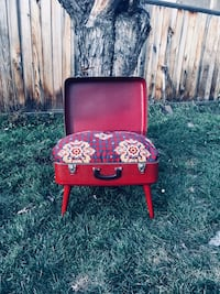 Vintage suitcase pet bed  Edmonton, T6E 4W8