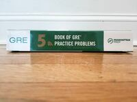 Gre book of Gre Practice Problems New York, 10032