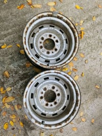 GM truck wheels,15x8 inch. Make offer Cedar Springs, 49319