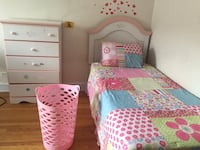 Pretty and Pink Girl's Bedroom Oak Park, 60302