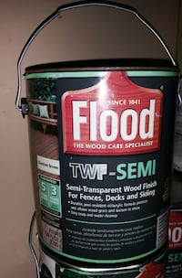 Flood Semi-Transparent Wood Deck Stain Finish Lanham