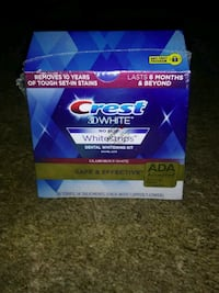 Crest 3D white toothpaste box Vancouver, 98685
